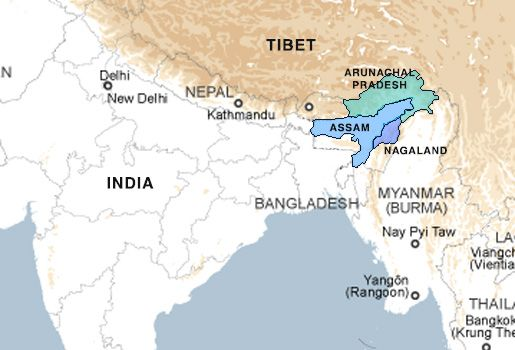 17  India/Nagas (1947-present)